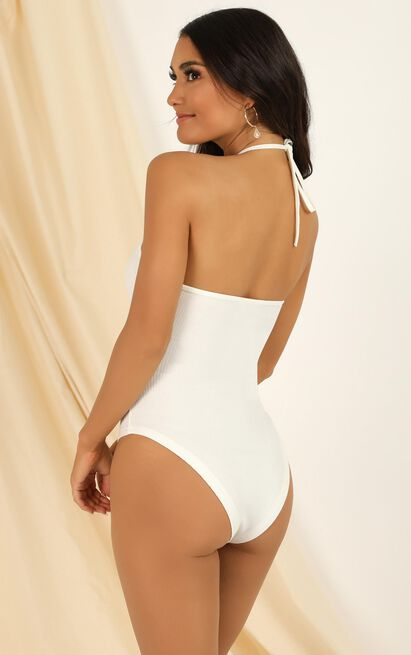 Last Song Bodysuit in white - 20 (XXXXL), White, hi-res image number null