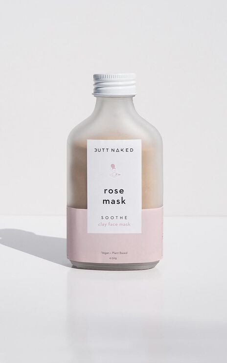 Butt Naked - Rose Clay Mask 50g