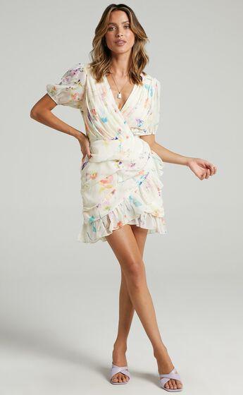 Arwyn Dress in Watercolour Floral
