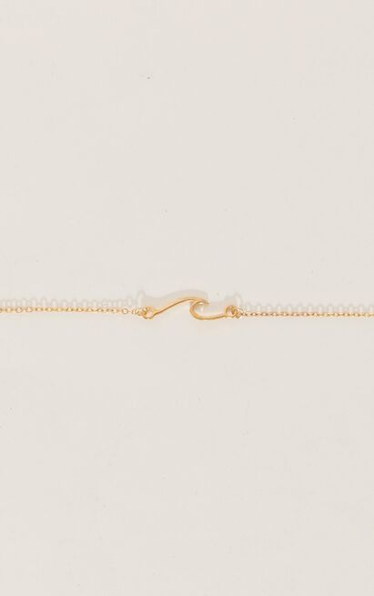 No Good For Me Necklace In Gold, , hi-res image number null