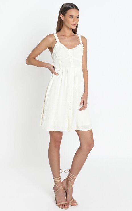 Rosanna Dress in White