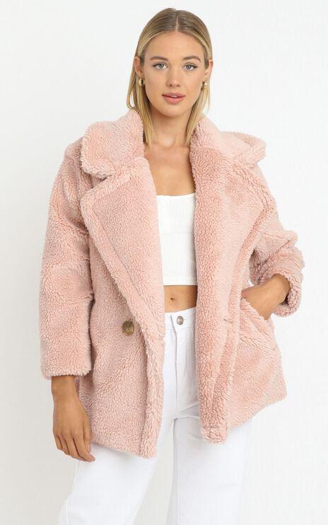 Atlantic Coat in Blush