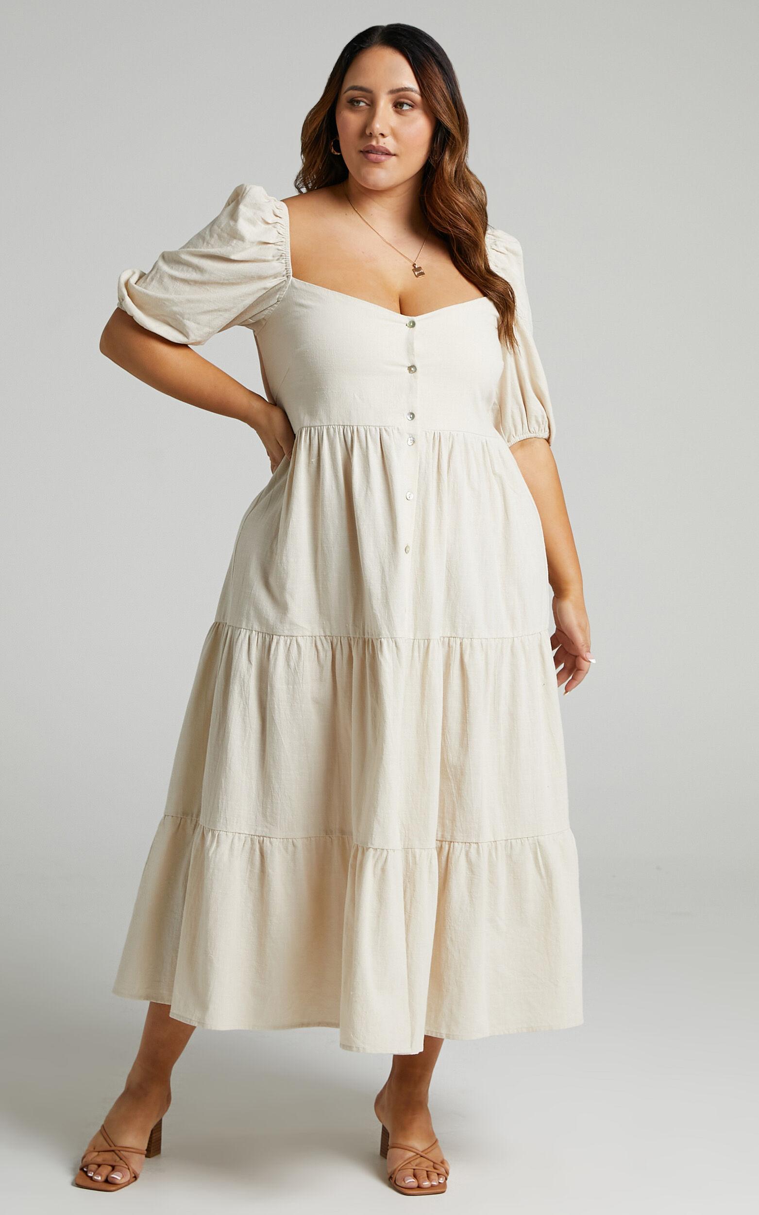 Palmer Dress in Cream - 06, CRE4, super-hi-res image number null
