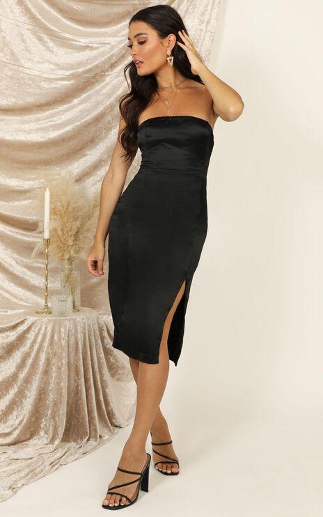 Darling Please Dress In Black Satin