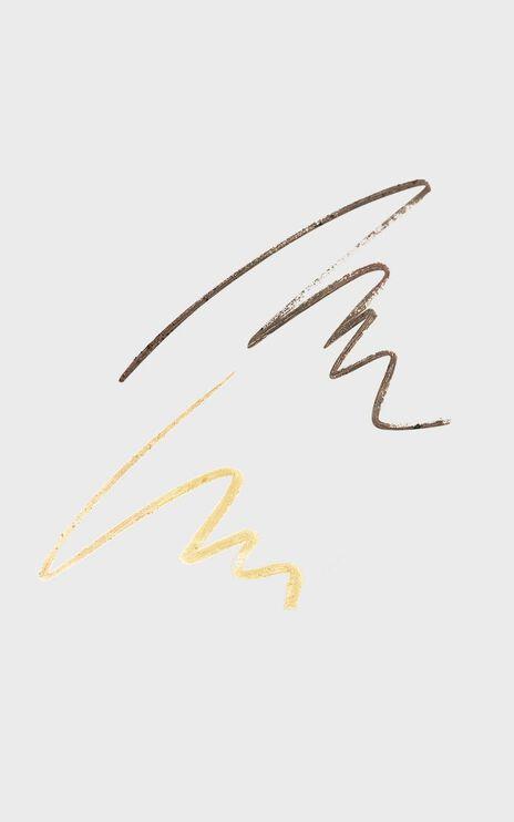 McoBeauty - Duo Brow Crayon & Highlighter in Medium/Dark