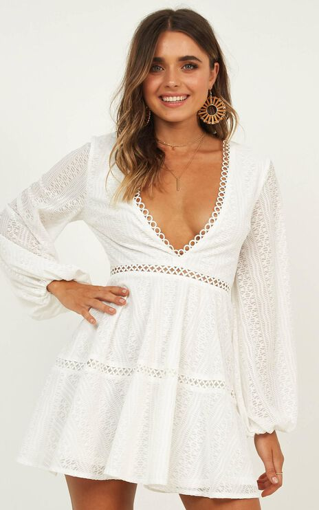 Youve Got This Dress In White