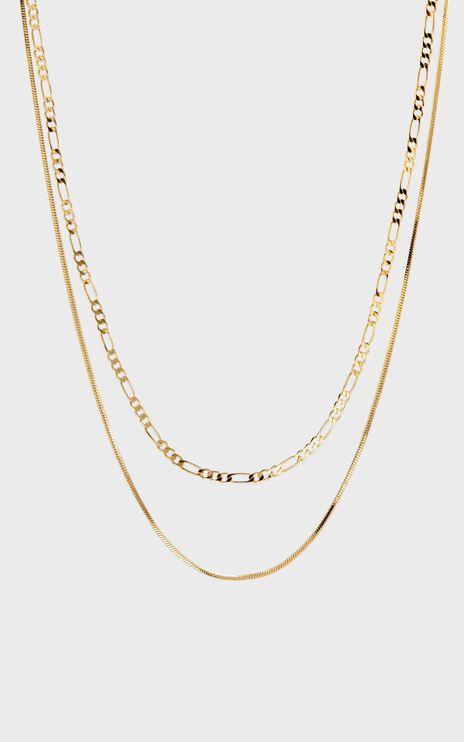 Luv Aj - Cecilia Chain Necklace in Gold