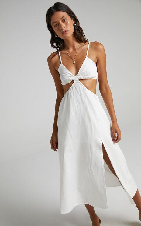 Melyssa Dress in White