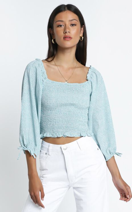Freddie Top in Light Blue
