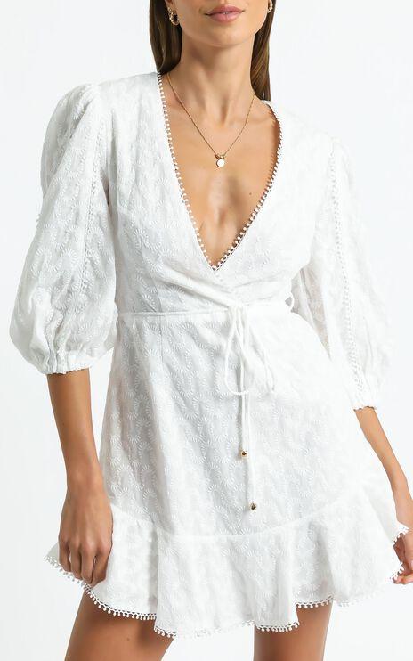 Aife Dress in White