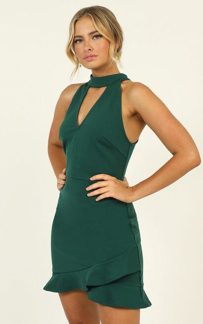 Still Feel It dress in green - 12 (L), Green, hi-res image number null