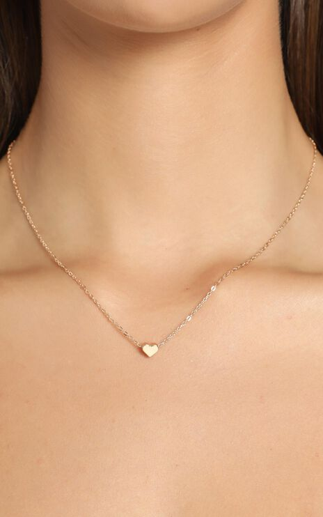 Newest Crush Necklace in Gold