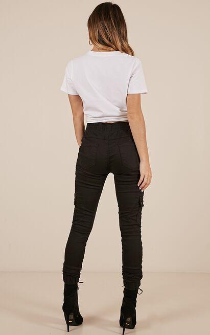 Claire Jeans in black denim - 20 (XXXXL), Black, hi-res image number null