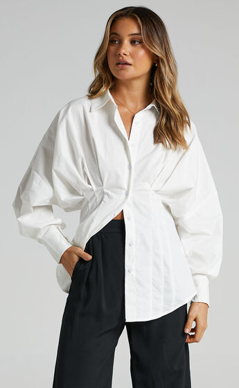 Kendry Shirt in White