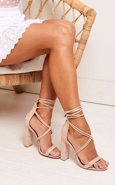Billini - Lyra Heels In Blush Micro