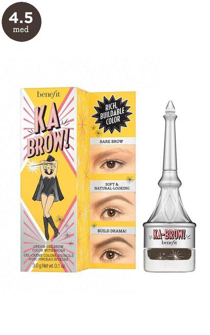 Benefit - Ka-BROW! Eyebrow Cream-Gel Colour In 4.5 - Neutral Deep Brown, Brown, hi-res image number null