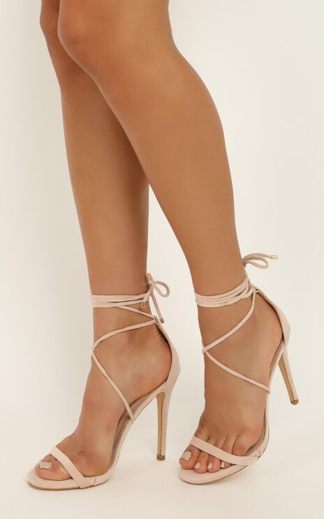 Billini - Deluca Heels In Blush Micro