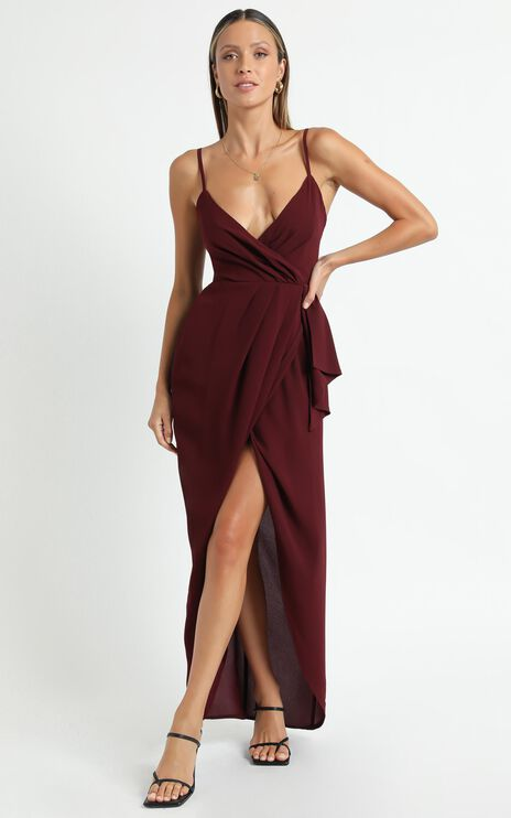 Gave Me You Dress In Wine