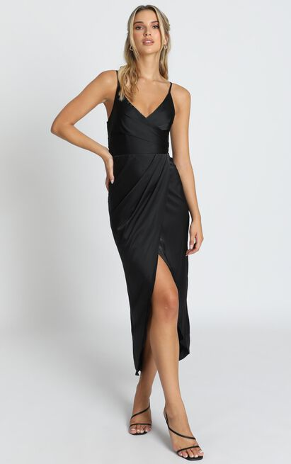 How Will I Know Dress in black - 14 (XL), Black, hi-res image number null