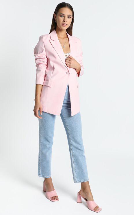 Brooks Blazer in Pink