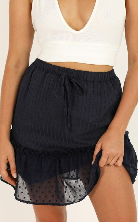 Open Options Skirt In Navy