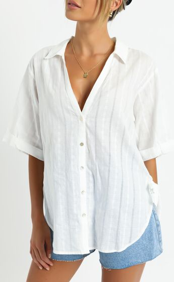 Love No More Shirt in White