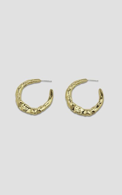 Jolie & Deen - Kirsten Hoop Earrings in Gold, , hi-res image number null