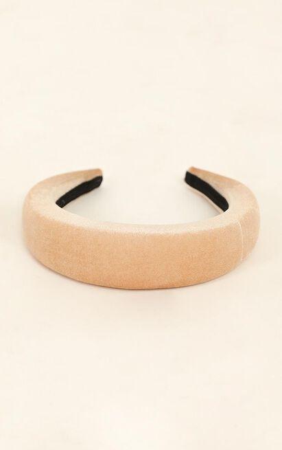 Blair Headband In Cream, Cream, hi-res image number null