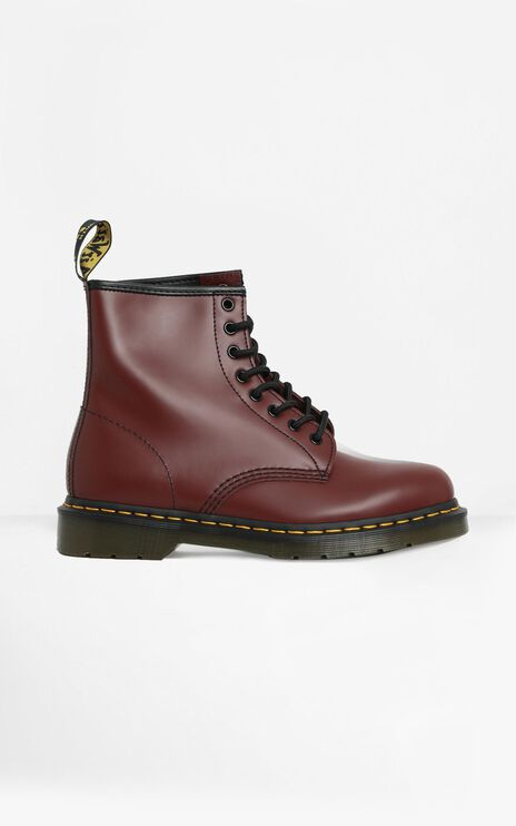 Dr. Martens - 1460 8 Eye Boot in Cherry Smooth
