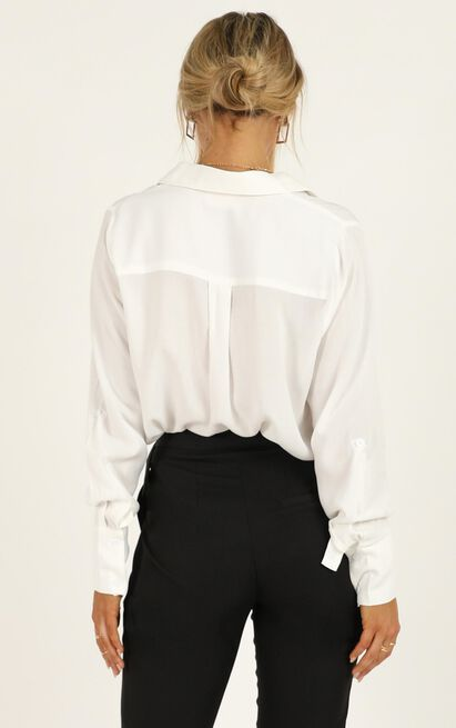 Strong Pursuit Top in white - 20 (XXXXL), White, hi-res image number null