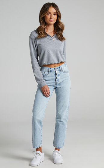 Levis - Wedgie Straight Jean in Montgomery Baked
