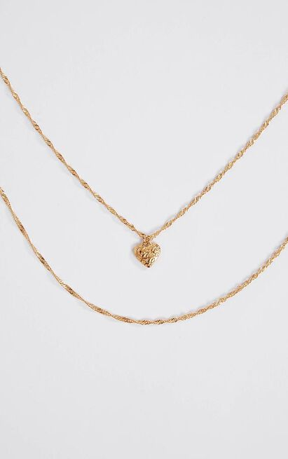 Overthinking Necklace In Gold, , hi-res image number null