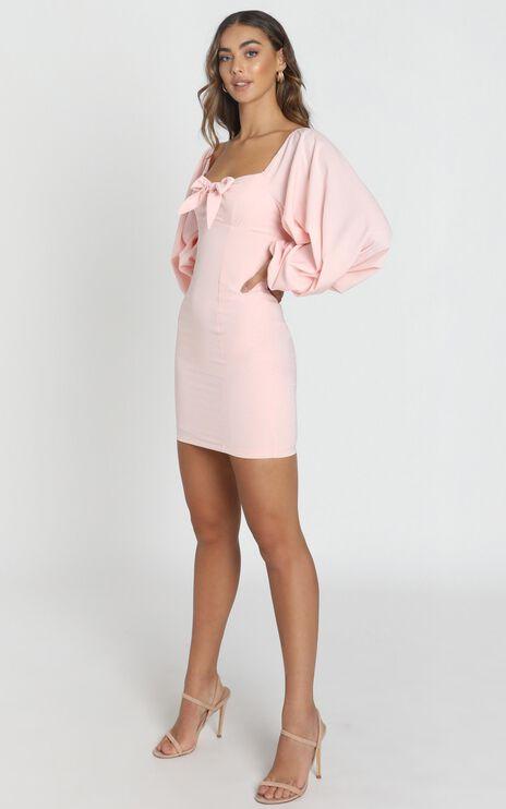 Hydrangea Dress in Peach