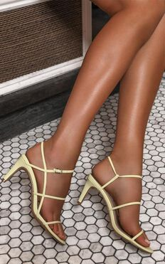 Therapy - Jazzie Heels In Pastel Yellow
