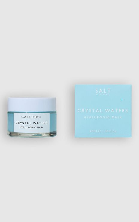 Salt By Hendrix - Crystal Waters Face Mask