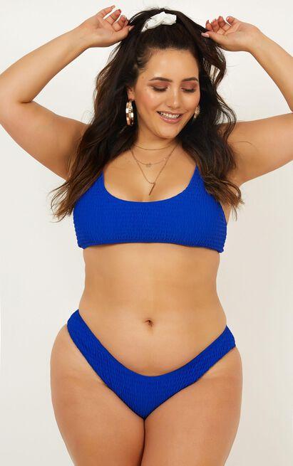 Anais Bikini Bottom in  Cobalt - 20 (XXXXL), Blue, hi-res image number null