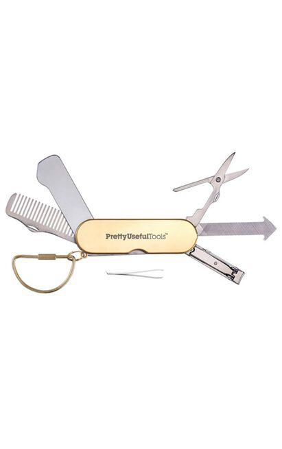 Pretty Useful Tools: Beauty Multi-Tool in Gold, , hi-res image number null