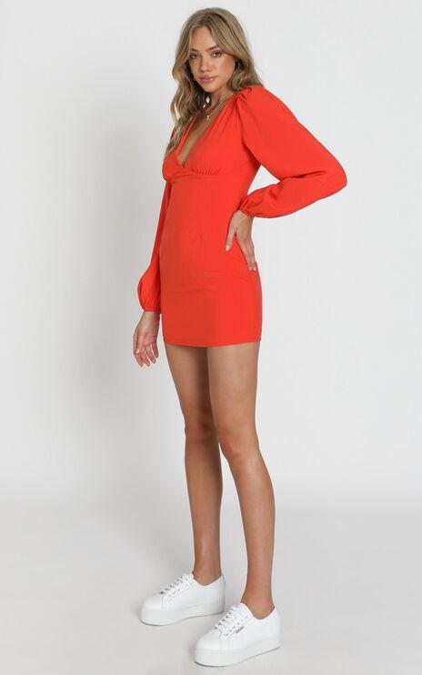 Dakari Dress in Coral