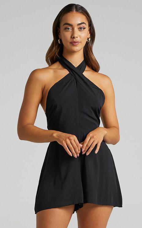 Miriel Playsuit in Black