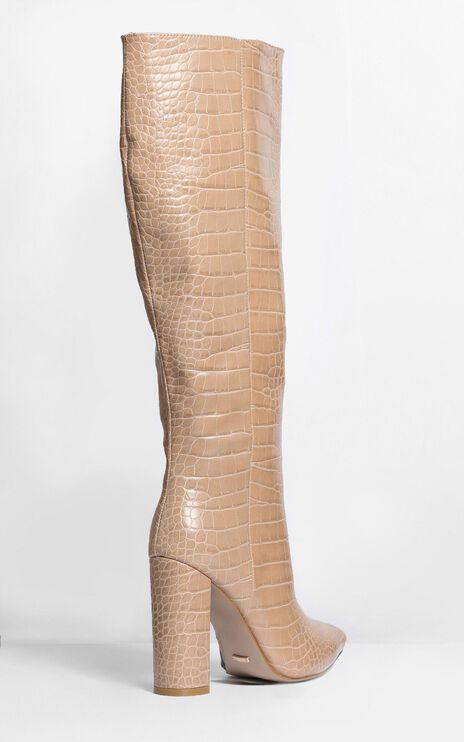 Billini - Milla Boots In Nude Croc