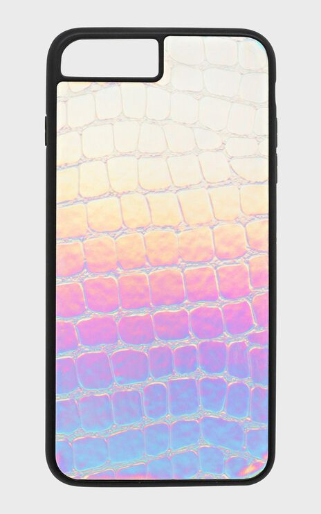 Georgia Mae - The Holographic Croc Iphone Case