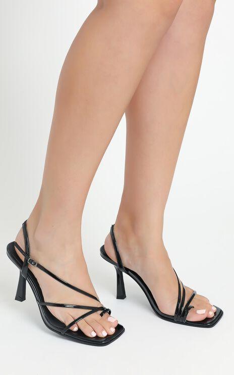 Verali - Loni Heels in Black Patent
