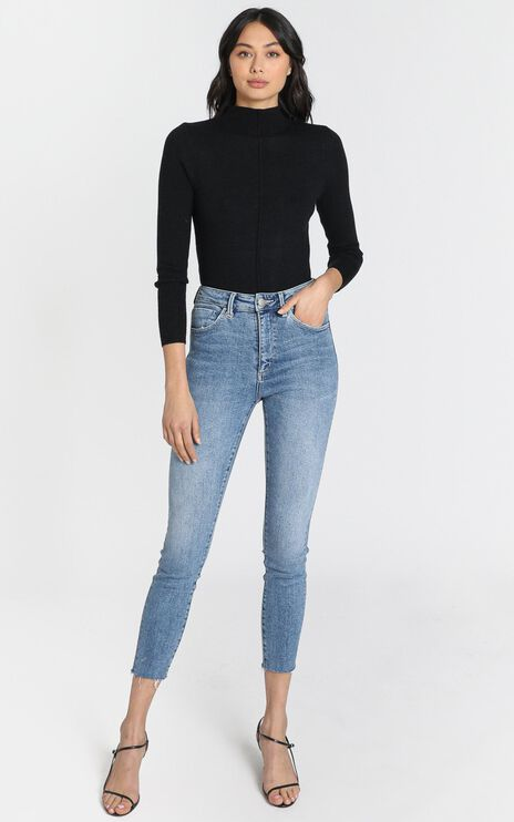 Neuw - Marilyn Skinny Jeans in Broken Blue