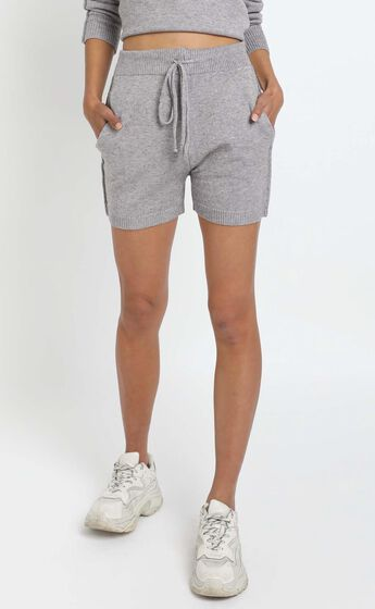 Arcadia Knit Short in Grey