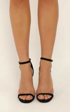 Billini - Jadore Heels In Black Micro
