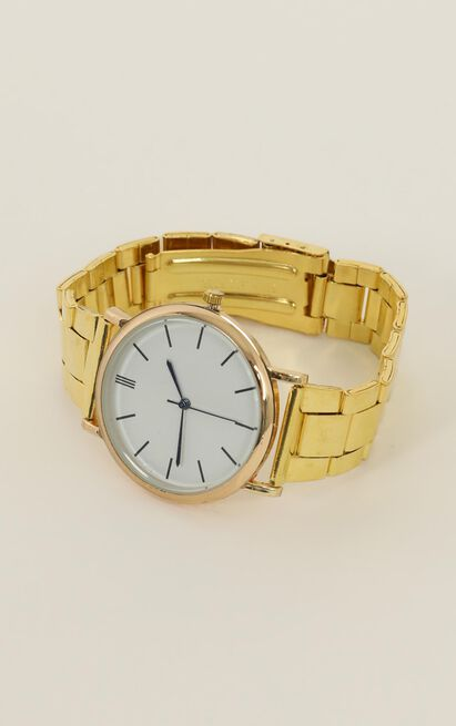 Hold On Forever Watch In Gold, Gold, hi-res image number null