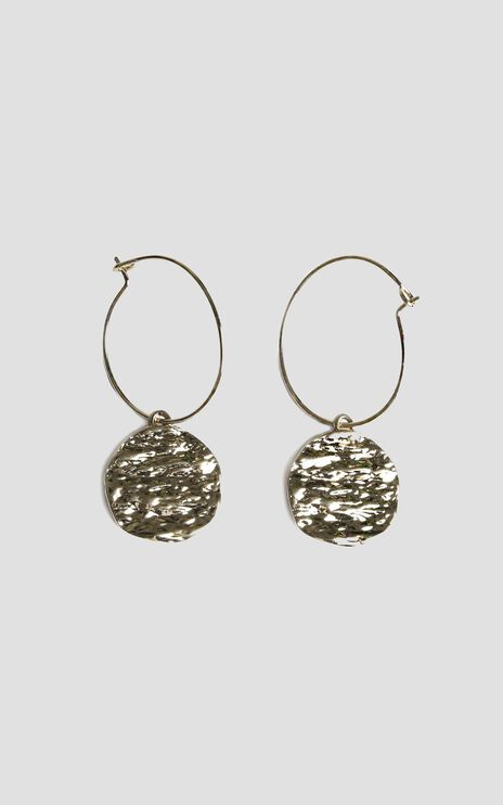 Golden Sunrise Drop Earrings in Gold