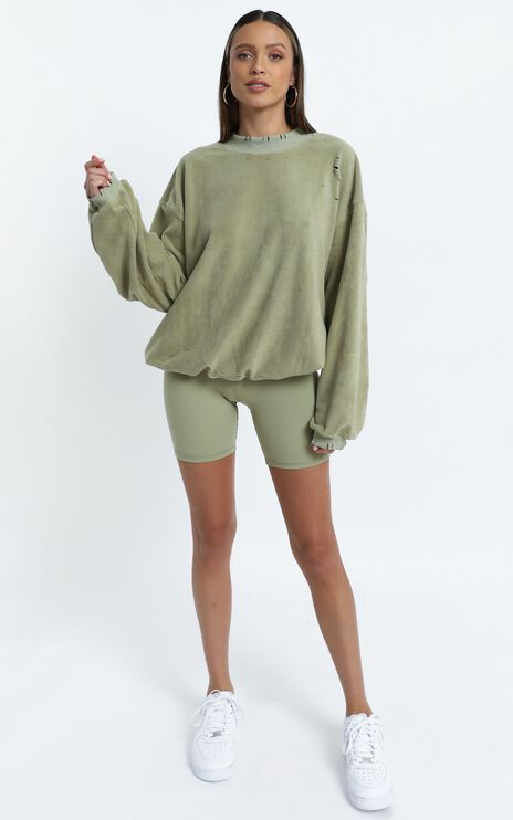 Cheska Jumper in Sage