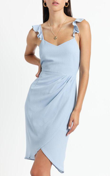 Sangria Dress in Blue