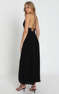 Ibiza Sunset Dress In Black